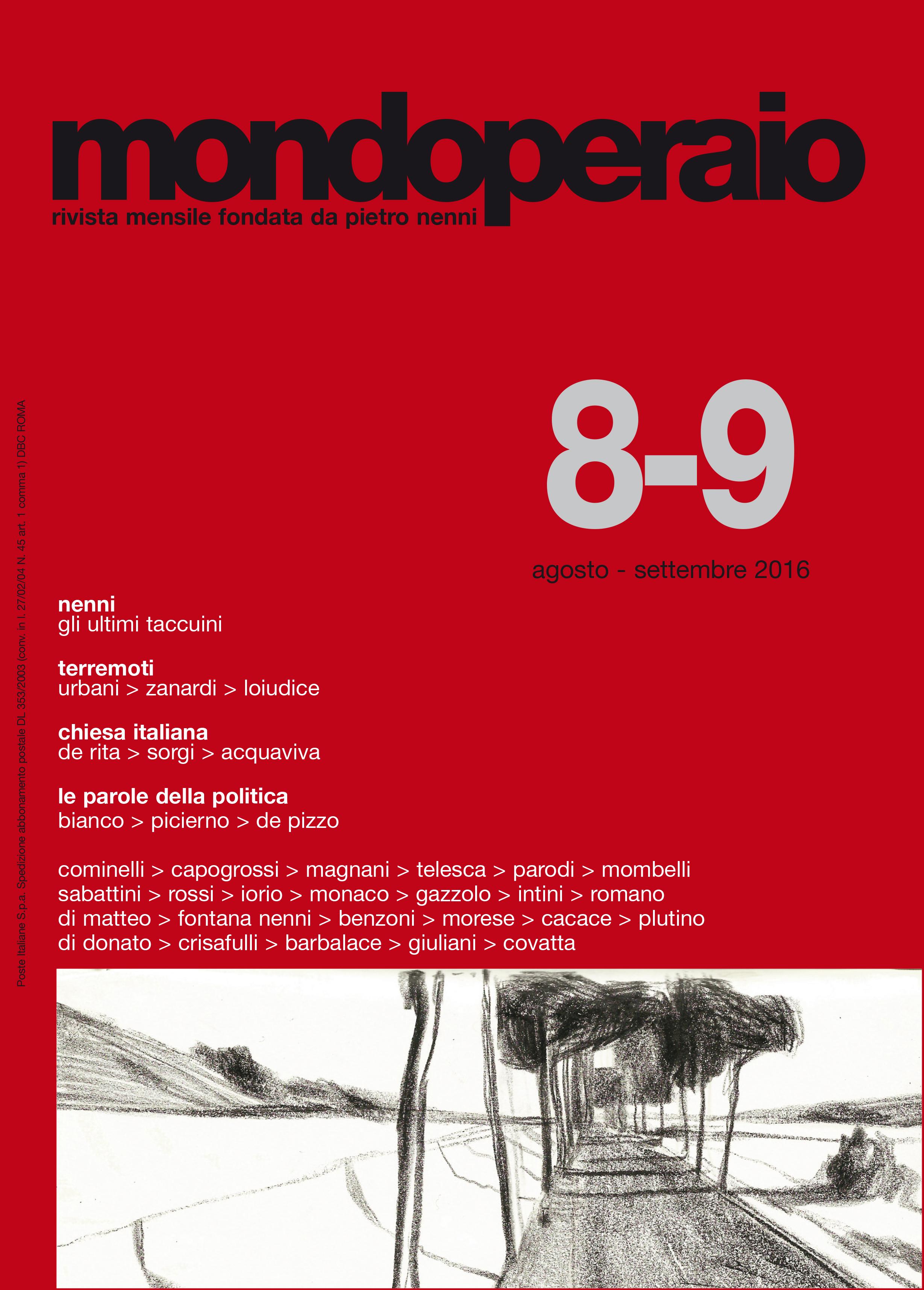 copertina mondoperaio maggio