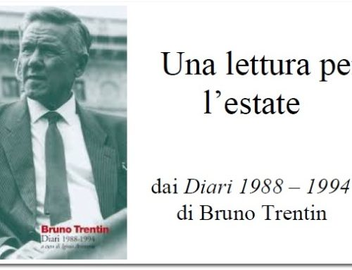 dai Diari 1988-1994 di Bruno Trentin  Sabato, 30 settembre