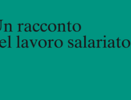 Il lavoro salariato e la sua storia  Mimmo Carrieri