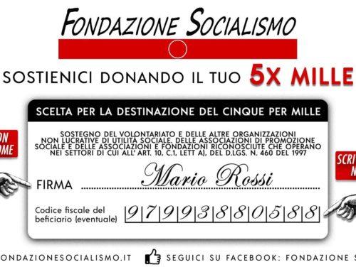 Sostieni la Fondazione Socialismo